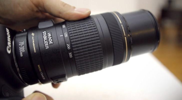 70-300 mm Lens