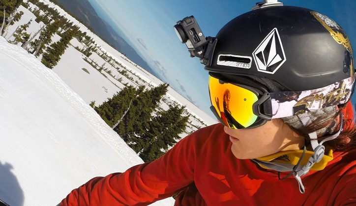 Where to mount an action camera
