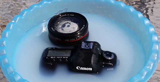 clean a Camera lens using household items