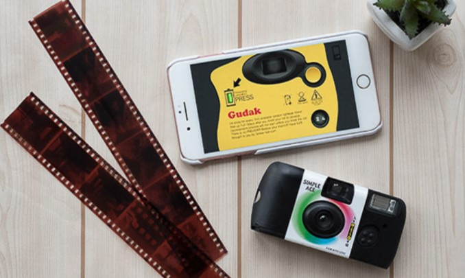 disposable camera with film