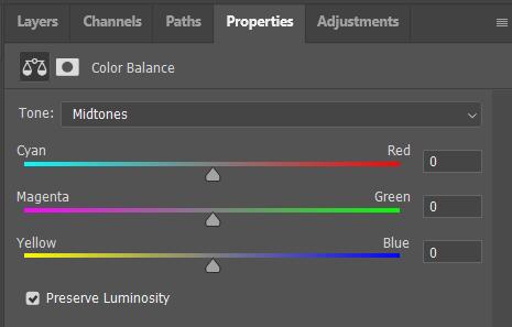 Adjusting Color Balance