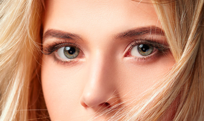 Changing Eye Colour on a Stock Photo