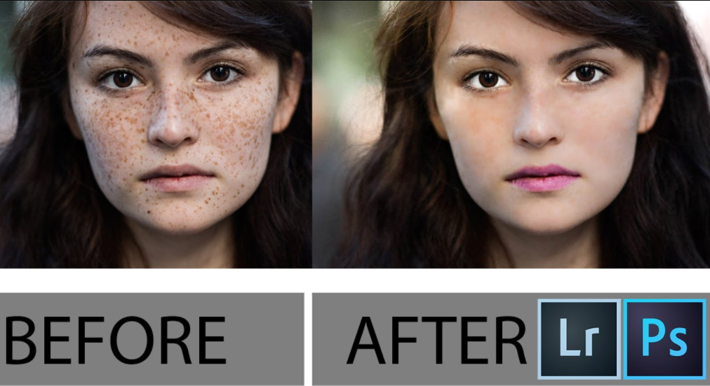 Retouching Skin Tones and Removing Blemishes