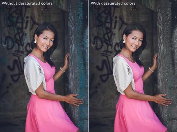 Use the Desaturation Presets to Get More Creative with Images