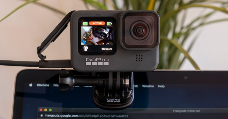 Action Camera as a Webcam