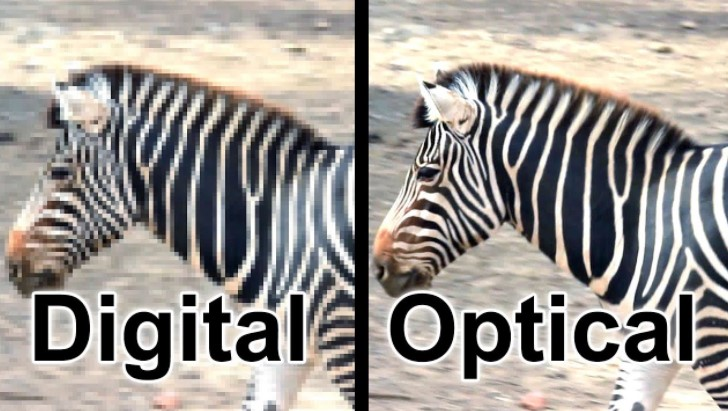 Difference Between Digital Zoom and Optical Zoom