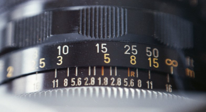 Distance Scale on a Lens