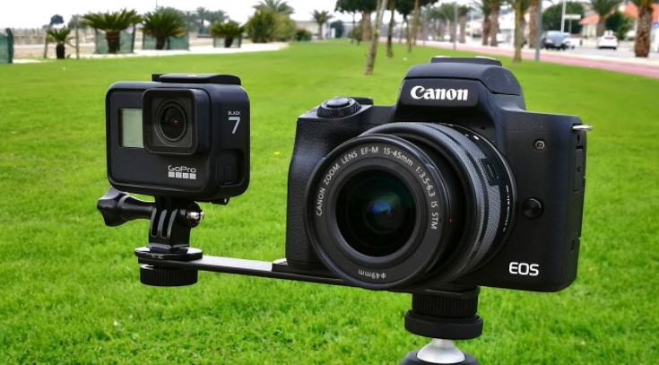 Action Camera Compare to DSLR